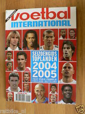 VOETBAL,FOOTBALL,SOCCER,SEASON 2004/2005 COUNTRY TEAMS,ITALY,SPAIN,UK,FRANCE,GER