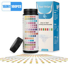 16 in 1 Drinking Water Test Strips Kit for Aquarium, Pool, Spa, Well & Tap Water