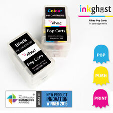 Rihac Pop Carts - for Canon PG-245 CL-246 Ink Cartridge refill Black & Colours