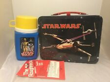 1977 Near Mint Unused Star Wars Lunchbox And Thermos