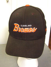 CLEVELAND BROWNS youth flexfit cap NFL football hat cursive script throwback OG
