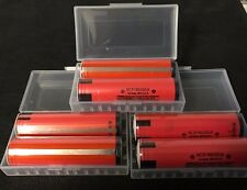 "Brand New ""6""  Panasonic NCR18650GA 3500mAh 10A 18650 Battery Protected, w/ PCB"