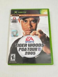 Xbox 360 Tiger Woods PGA Tour 06 Golf EA Sports Video Game Disc Case Manual