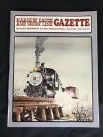 Narrow Gauge and Short Line Gazette September / October 1993
