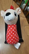 Clarice 4.5 inch Rudolph the Red Nosed Reindeer baby rattle