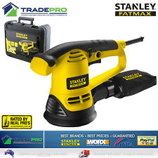 Stanley® Fatmax Sander Random Orbital PRO 480W Electric Wood Paint Metal FME440K