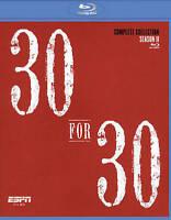 ESPN Films 30 for 30 Season II, Films 31-60 (Blu-Ray, 10 Discs) NEW Sealed