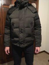 Tom Ford Authentic New Men's Down Parka Winter Jacket-Vest Coyote Fur Size 48