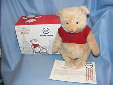 Steiff Christopher Robin Winnie The Pooh Limited Edition 355424 Brand New 2019