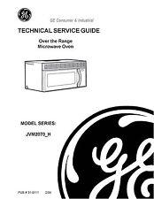 Repair Manual: GE Microwave Oven (Choice of 1 manual)