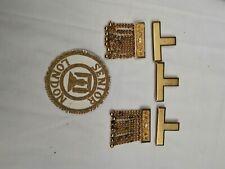 Craft London,Senior London Grand Rank  Hand Embroiderd badges Apron Jewels