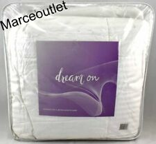 Dream on Full/Queen 500 Thread Count Goose Down Comforter White