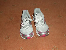 REEBOK LADIES TRAINERS  SIZE 7UK 40.5 EURO DMX RIDE GREY , PINK AND WHITE VERY G