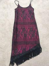 Black Pink Ladies Latin Dress 12