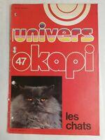 N2 Rivista Universo Okapi N° 47 Il Gatto, Dei, Diavolo, Corp Ecc.