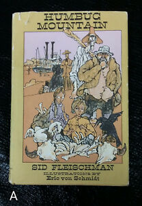 SIGNED 1978 HCDJ Humbug Mountain by Sid Fleischman Illustr. by Eric Von Schmidt