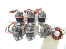 """***LOT OF 6*** USED 1/4"""" ASCO 8317G36 SS NC 24DC Quick Exhaust Solenoid Valves"""