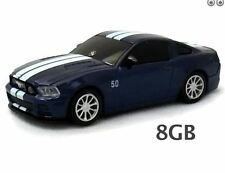 Ford Mustang GT USB Flash Drive 8GB - Blue  Landmice