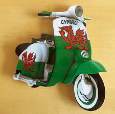 Scooter Nevera Imán, Mod Nevera Imán, Welsh Dragon Scooter Nevera Imán