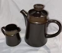Noritake Primastone Stoneware Coffee Pot And Creamer