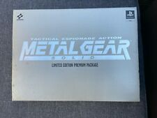 Metal Gear Solid Limited Edition premium package Collectors ps1/PlayStation 1