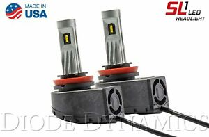 Diode Dynamics Diode Dynamics DD0217P H11 SL1 LED Headlight Pair DD0217P