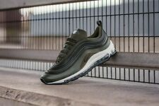 Nike Air Max 97 Ultra '17 Premium UK 7.5 EU42 Cargo Khaki Black 🚀