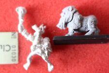 Games Workshop Warhammer Savage Orcs Champion Metal Figure Boar Boy Rider Metal