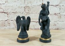 Franklin Mint The Chess Set of The Gods Neptune Bishop & Pawn Set