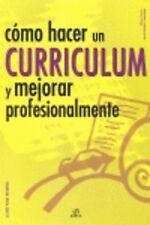 Como hacer un curriculum y mejorar profesionalmente. ENVÍO URGENTE (ESPAÑA)