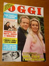 OGGI 1984/17=GLORIA GUIDA=VITTORIO LOI=MAMMA EBE=VITTORIO FRANCHINI=BADALAMENTI=