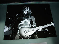 KISS-KILLER ACE FREHLEY 8X10 EARLY LIVE SHOT.THE REAL 'SPACE ACE'