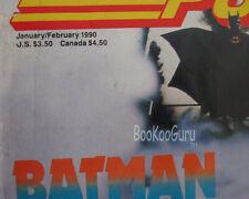 Nintendo Power Magazine, Jan/Feb, 1990, Batman, Joker, Tetris, Gear Guide
