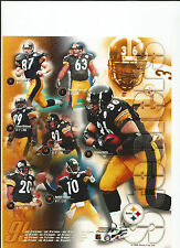 1999 PITTBURGH STEELERS 8X10 NFL PICTURE PHOTO