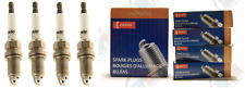"""DENSO """"U-GROOVE"""" Spark Plugs (Set of 4) for 2012-2013 Fiat 500 1.4L L4"""