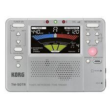 KORG TM-50TR - Accordatore / Metronomo / Tone Trainer Silver