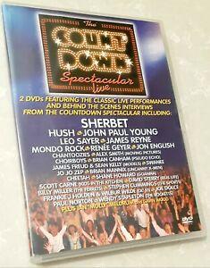 Count Down Spectacular DVD Concert Sherbert James Reyne 1970s Music Countdown