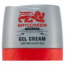 Brylcreem Hair Gel Cream - 150 ml Light Non-Glossy Hold.
