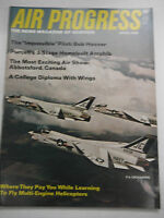 Air Progress Plane Magazine Bob Hoover Purcell April 1969 121416R