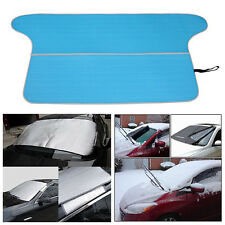 1x 79*37'' Double Sides Car Summer Sun Shade Anti-UV Snow Frost Proof Cover Blue