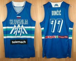 2021 Luka Doncic 77 Slovenija Basketball Jersey Stitched Slovenia Custom Names