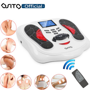 OSITO EMS TENS Machine Foot Leg Body Booster Blood Circulation Remote Massager