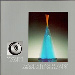 Yann Zoritchak Biografia Vetro Contemporaneo Esposizione 1989 Annecy Glas