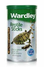 Wardley Premium Amphibian Reptile Turtles, Frogs Newts Sticks, 2oz, 57g