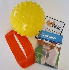 Fitness Equipment Kit - Pilates Ball, Pilates Band, Resistance Loop & Free Dvd!