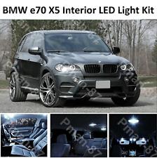 2018 BMW X5 E70 INTERIOR PURE WHITE FULL UPGRADE LED LIGHT BULBS KIT
