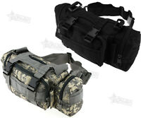 Tactical Waist Pack Bag Camping Outdoor Hiking Military Molle Pouch Wallet