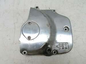 1987 Suzuki GS450L GS 450 L Front Engine Side Sprocket Cover Cap Used OEM