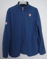Disney Mickey Always Authentic Large Fleece Jacket Blue Long Sleeve Full Zip