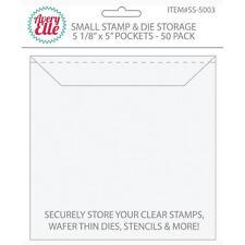 Avery Elle ~ STAMP & DIE STORAGE ~ Small ~ Set of 50 Storage Pockets